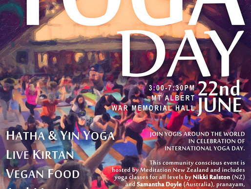 International Yoga Day Celebration 2019     June 22nd