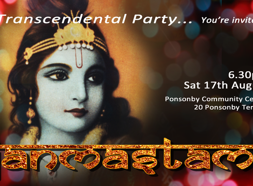 JANMASTAMI  Sat 17th August 6.30pm