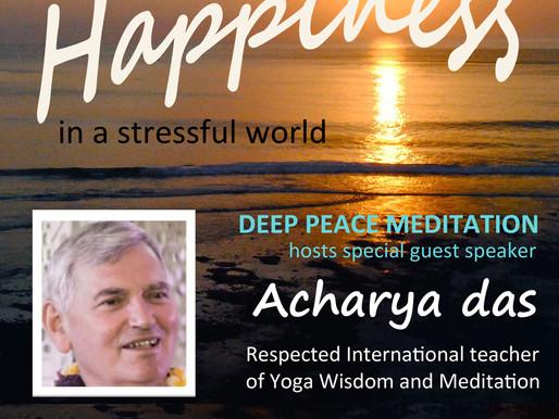 Deep Peace Special Event!