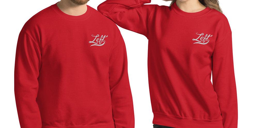 Left Unisex Sweatshirt