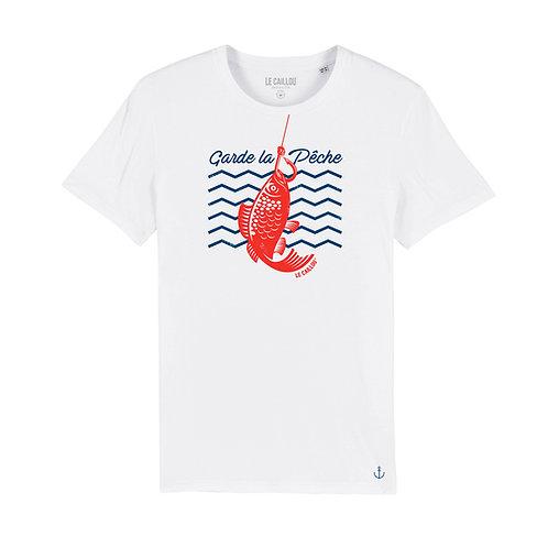 "T-Shirt Mixte ""GARDE LA PECHE (2)"""