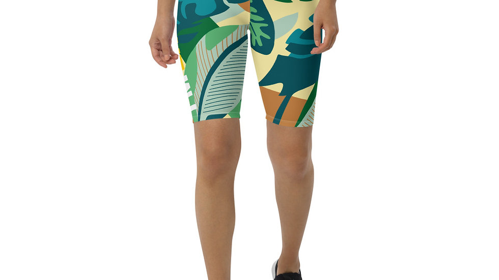 Rainforest Biker Shorts