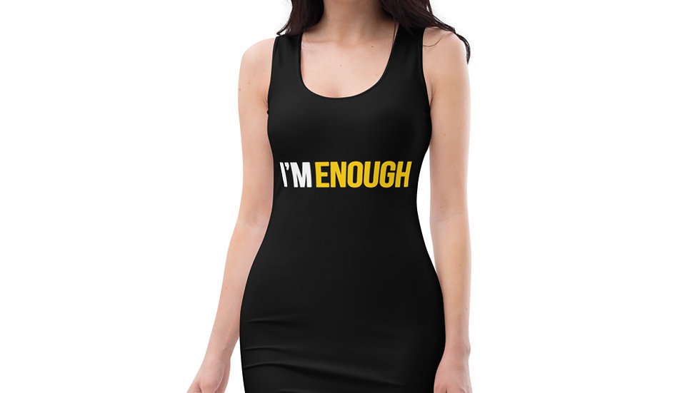 I'm Enough Fitted Dress 2