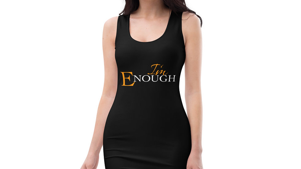 I'm Enough Fitted Dress 3