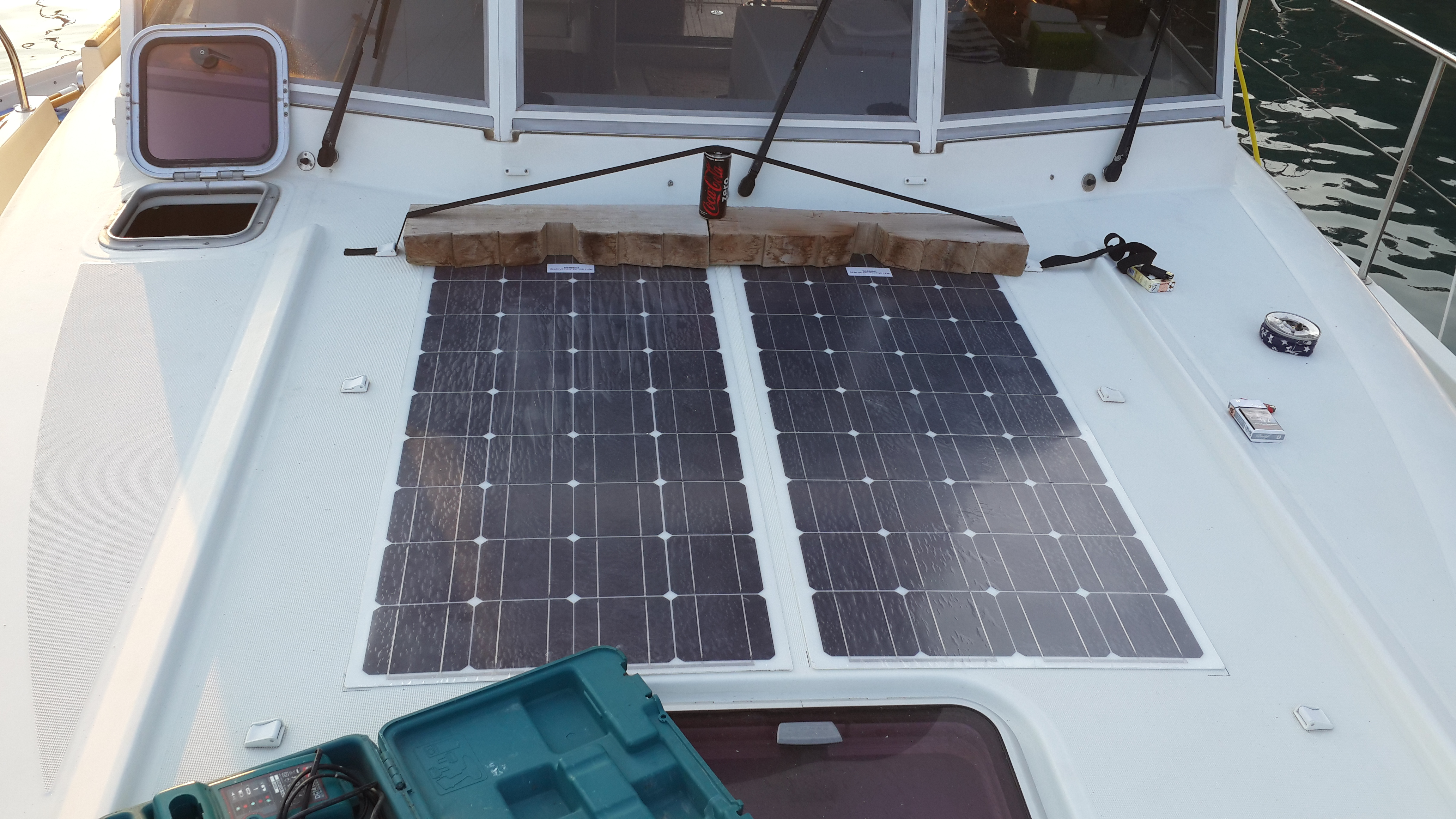 Güverte Üzeri Güneş Panel Montajı
