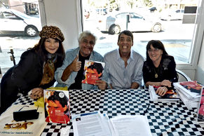 Book signing with Jay Leno and author Sy