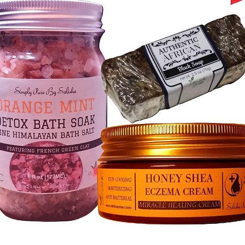 Eczema Detox Healthy Skin Trio