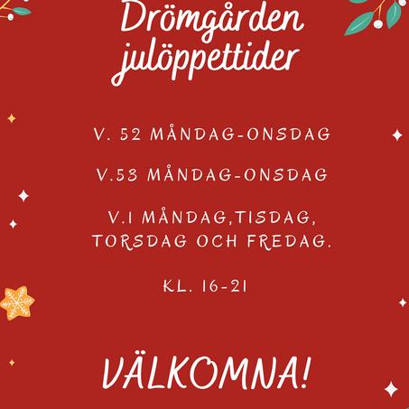 Drömgården under jul
