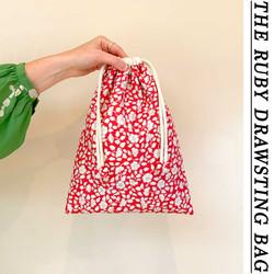 THE RUBY DRAWSTRING BAG