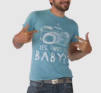 Blue My Baby Tshirt
