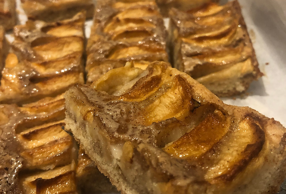 French Apple Torte Slices -16 slices