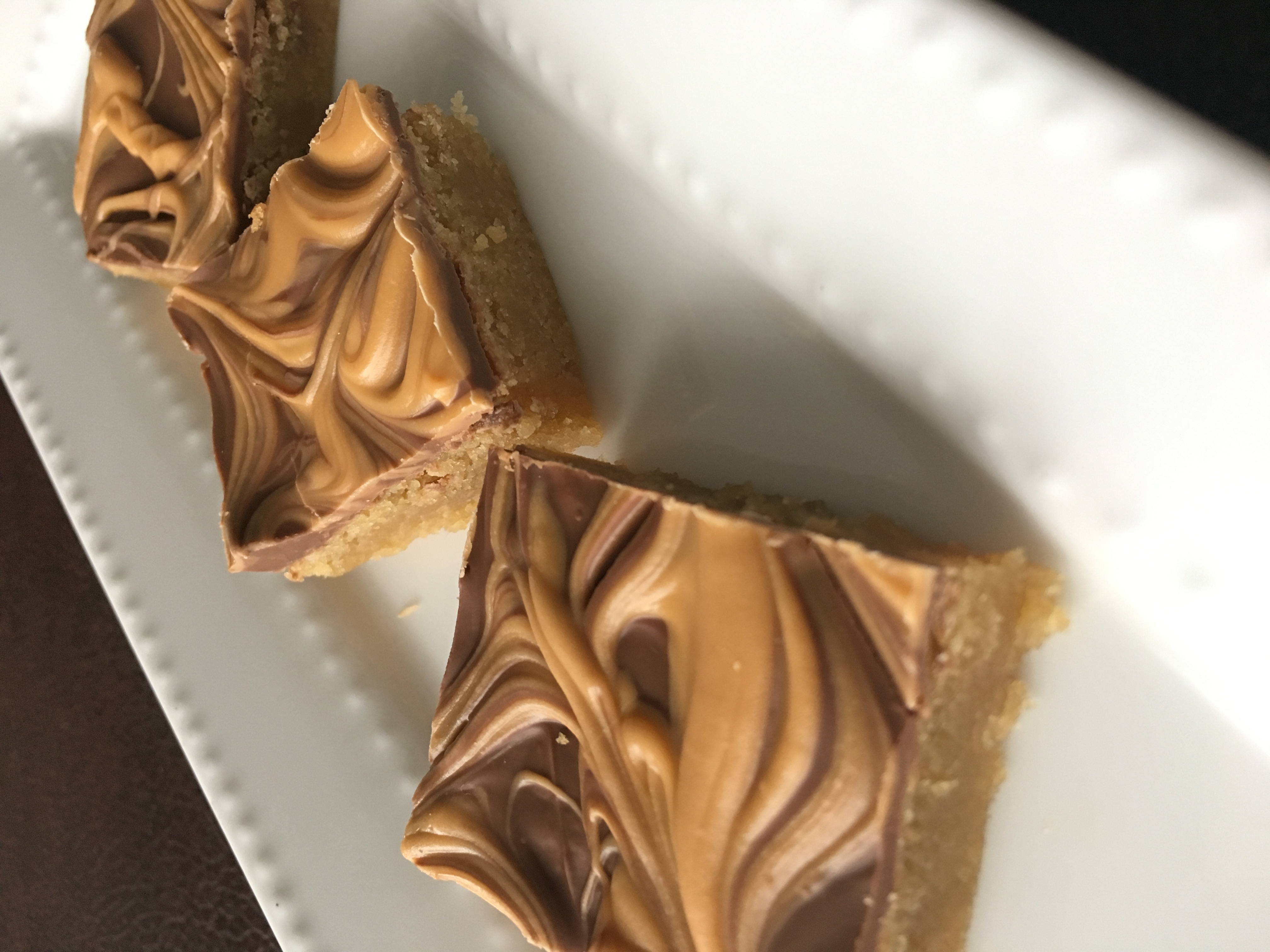 Butterscotch Topped Squares
