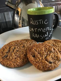 Rustic Oatmeal Cookies