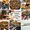 Thumbnail: Assorted Chocolate Bar Stuff'd Oreo Cheesecake Cookie Pie