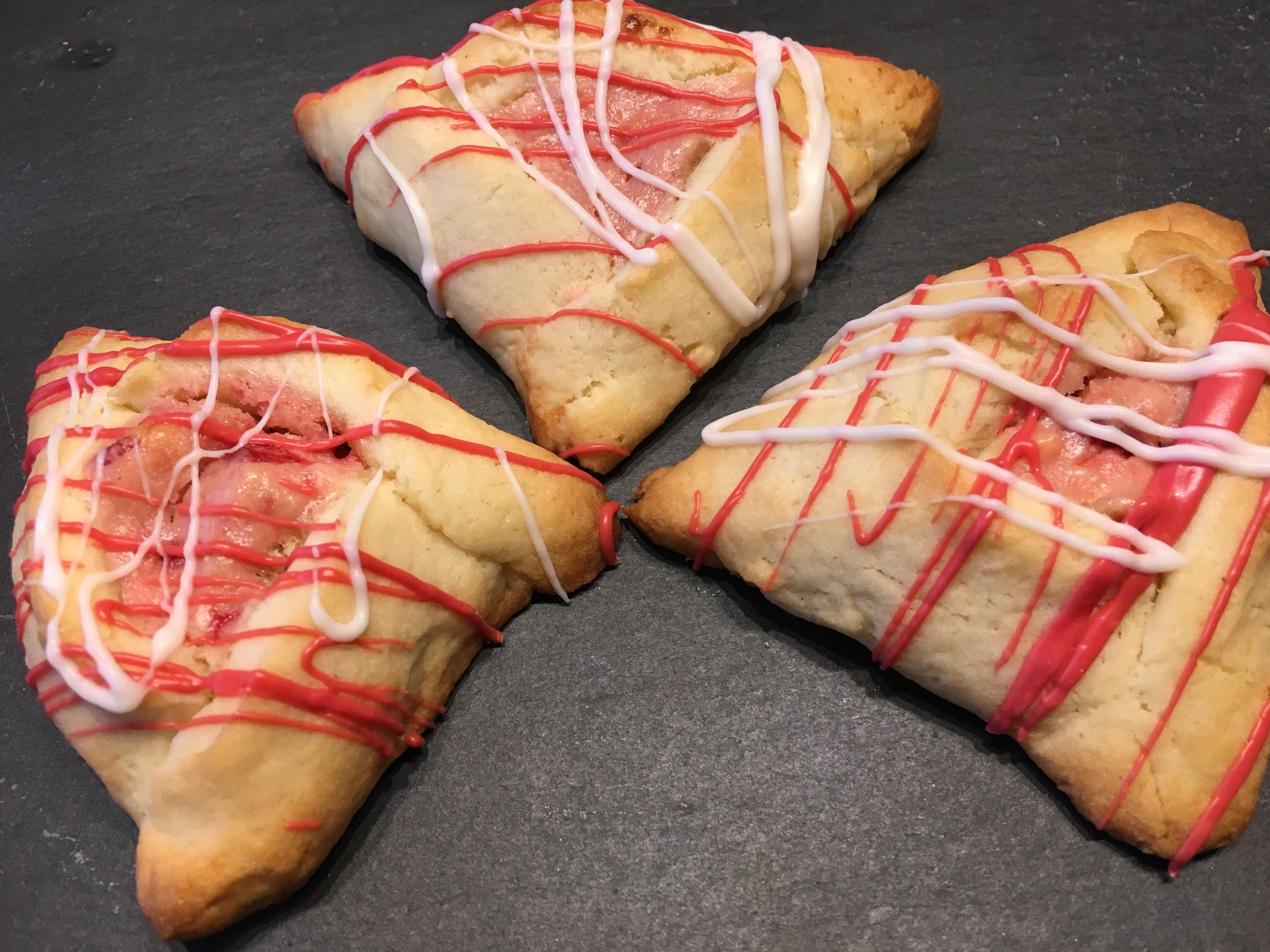 Strawberry Cheesecake Hamentashen