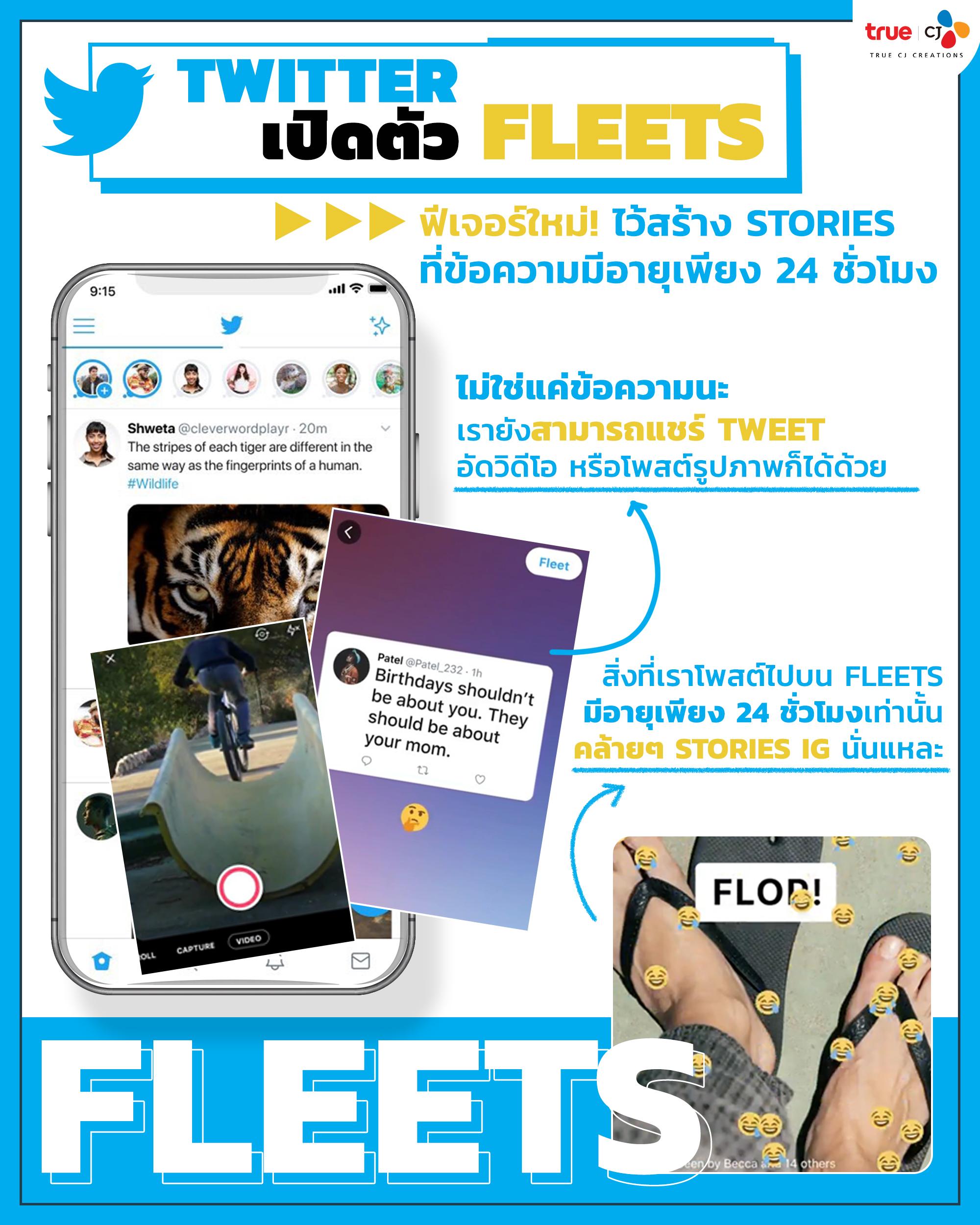 Update Trends : Twitter Fleets
