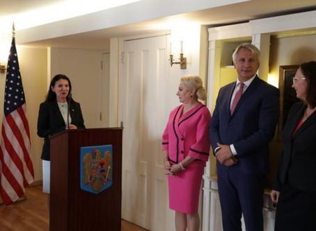 Delegaţia PSD a fost întrebată în Statele Unite de banii artiştilor americani din România