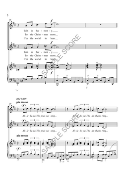 Winter Journey - Example Score Page 3