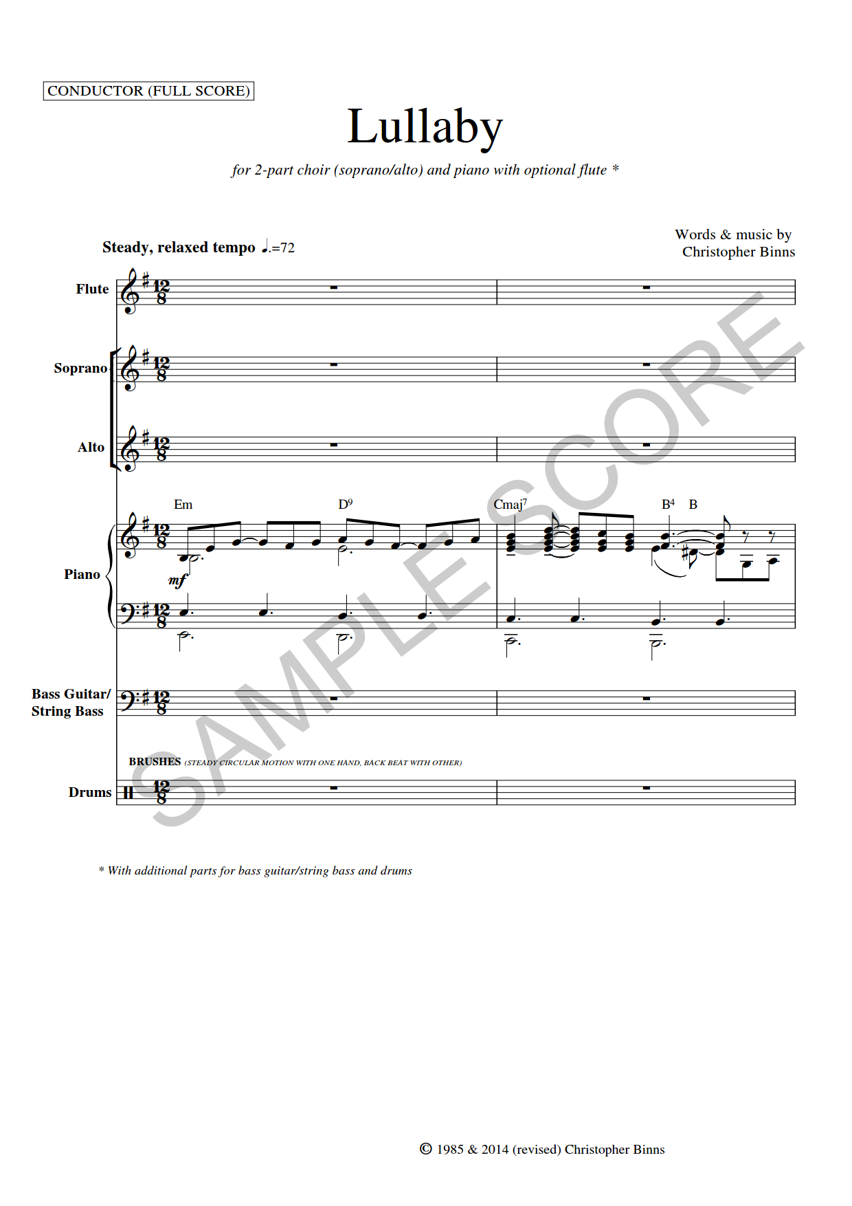 Example Conductor's Page 1
