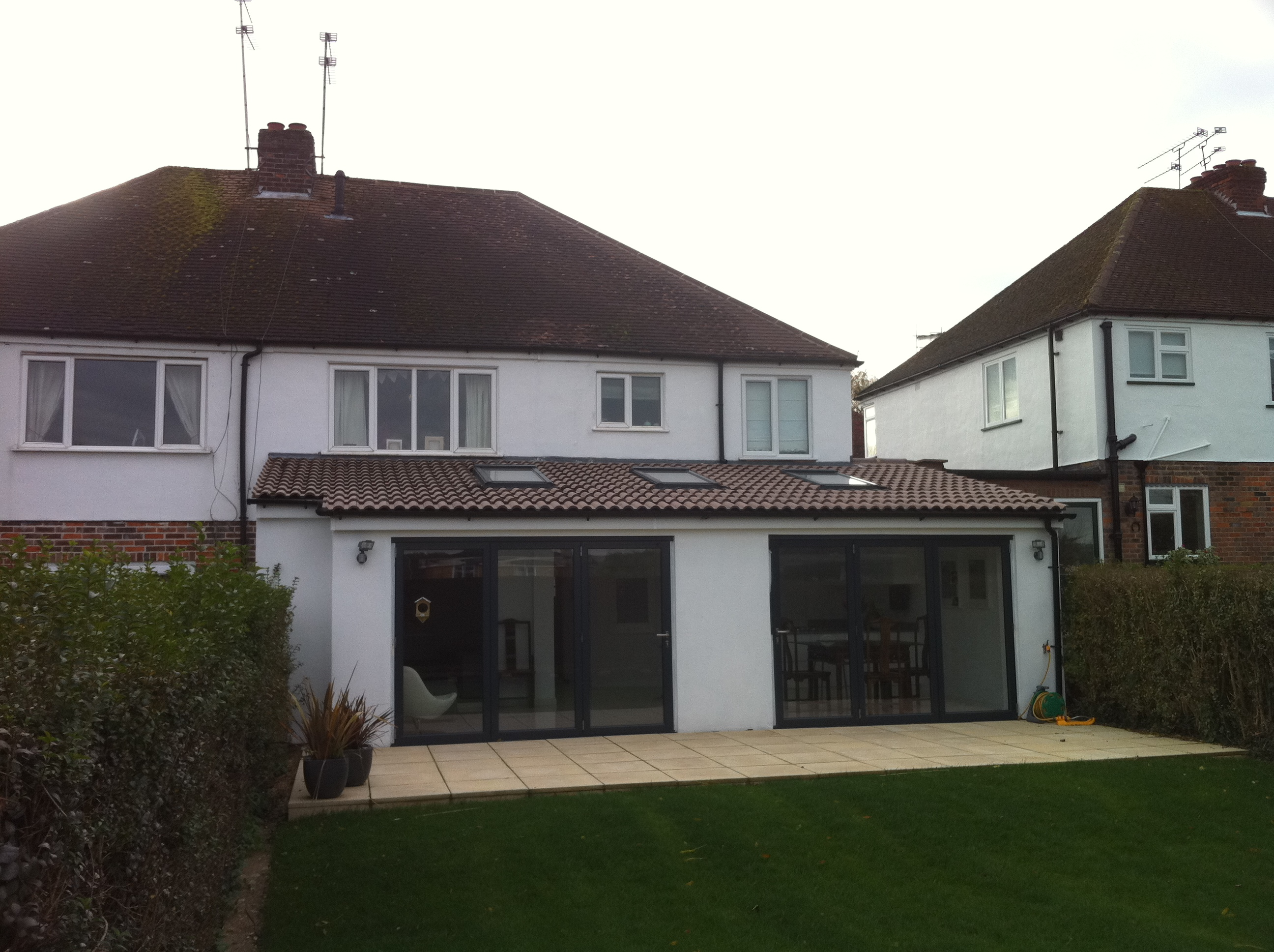 Single and Two Storey Side & Rear Extension, Herts