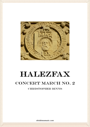Halezfax Concert March #2 (Digital PDF Copy)