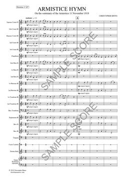 Armistice Hymn - Ex Scr Conductor Pg4