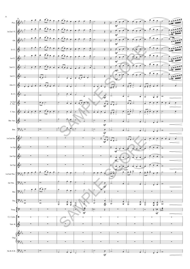 Armistice Hymn - Ex Scr Page 8