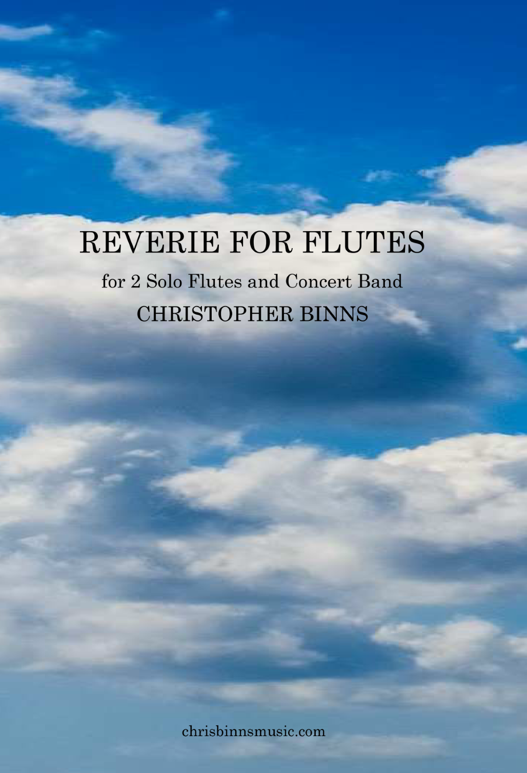 Cover Page - Reverie For Flutes