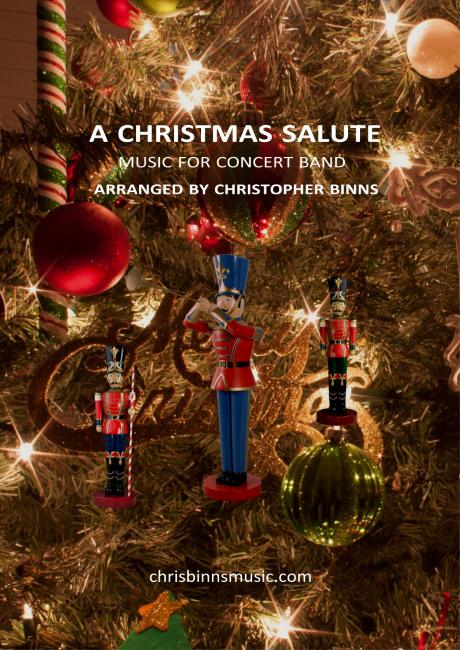 A Christmas Salute - Cover