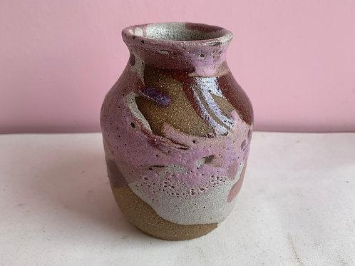 Tall Purple Velvet Bud Vase