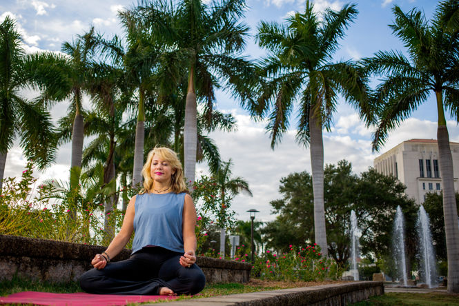 Gisselle Meditates