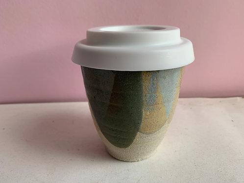 M Moss petal travel cup