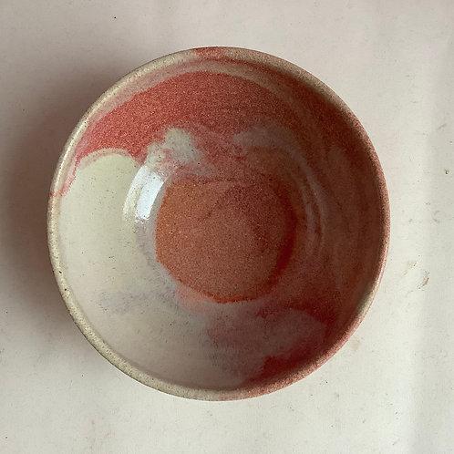 Small Strawberry Swirl Bowl