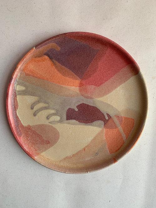 M Confetti Plate