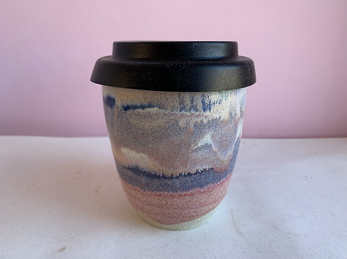 Colourful Cup with optional lid