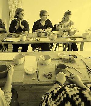 Participants in a workshop