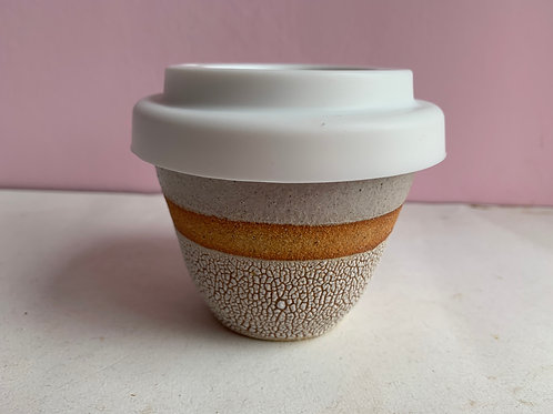Small Crackle Travel Cup