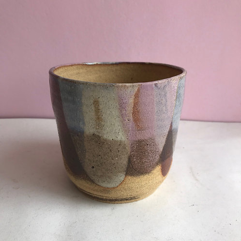 Recycled Clay Lilac Petal Planter