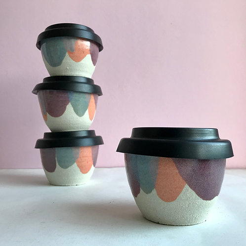 S circus travel cup