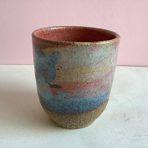 Colourful Swirl Cup