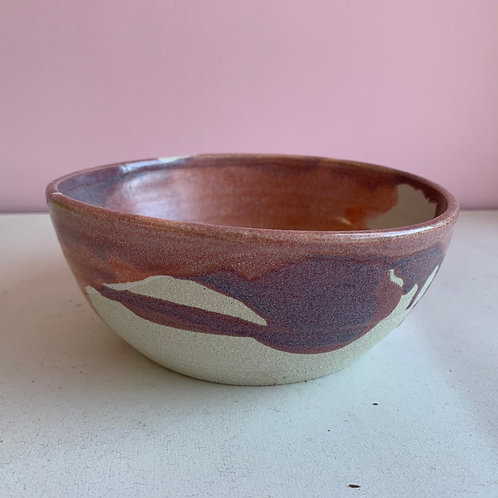 Pink/purple bowl