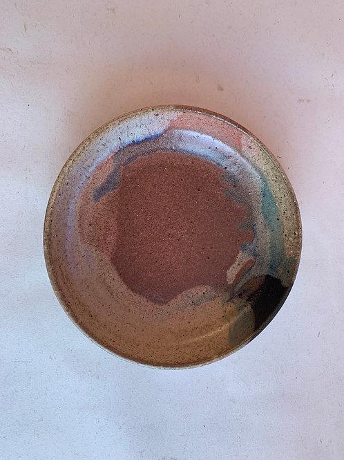 S Galaxy Pour Plate Bowl