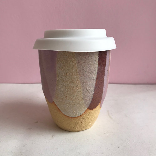 Lilac Petal Travel Cup