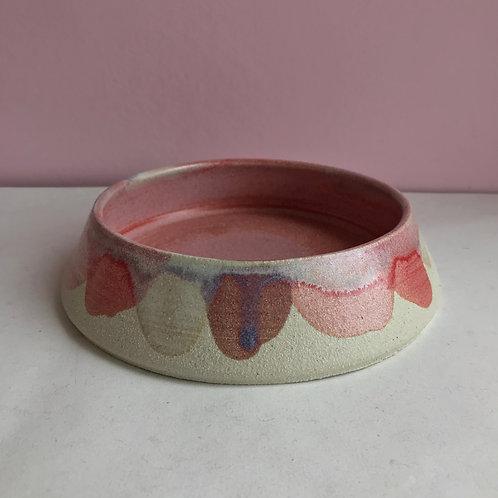 L Autumn Petal Dog Bowl