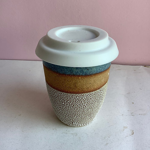 L Crackle travel cup