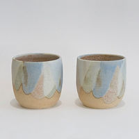 Pastel cups available at Bokeh Gallery