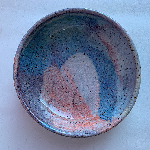 Small Recycled Clay Plate Bowl