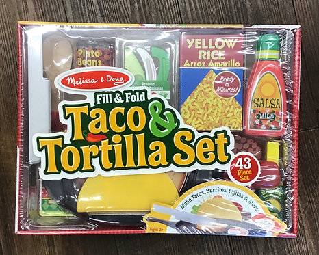 Fill & Fold- Taco & Tortilla Set