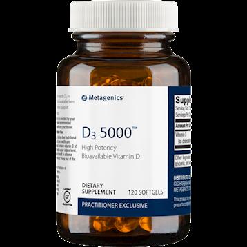 Metagenics- Vitamin D3 5,000 IU