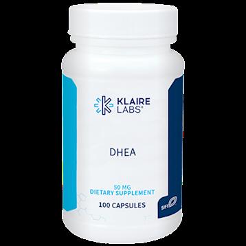 Klaire Labs- DHEA 50 mg